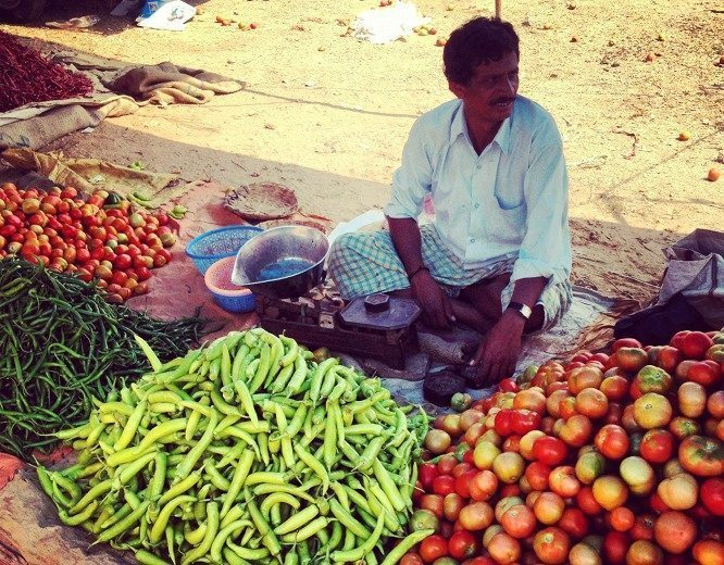fruits vegetables india